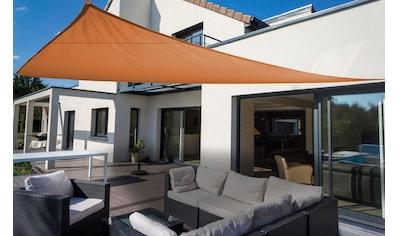 Floracord Sonnensegel »Dreieck«, B: 460 cm, terracotta kaufen