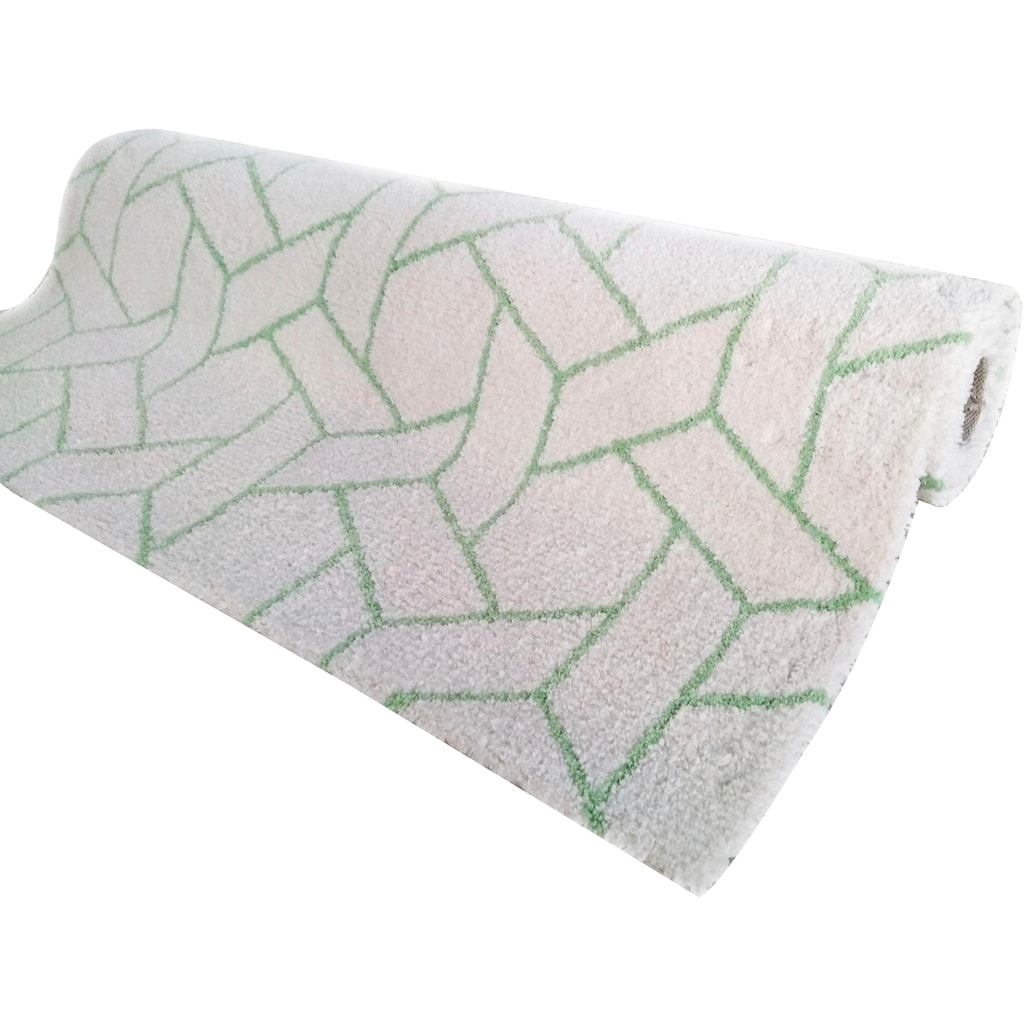 Teppich, »Milan«, my home, rechteckig, Höhe 20 mm, maschinell getuftet