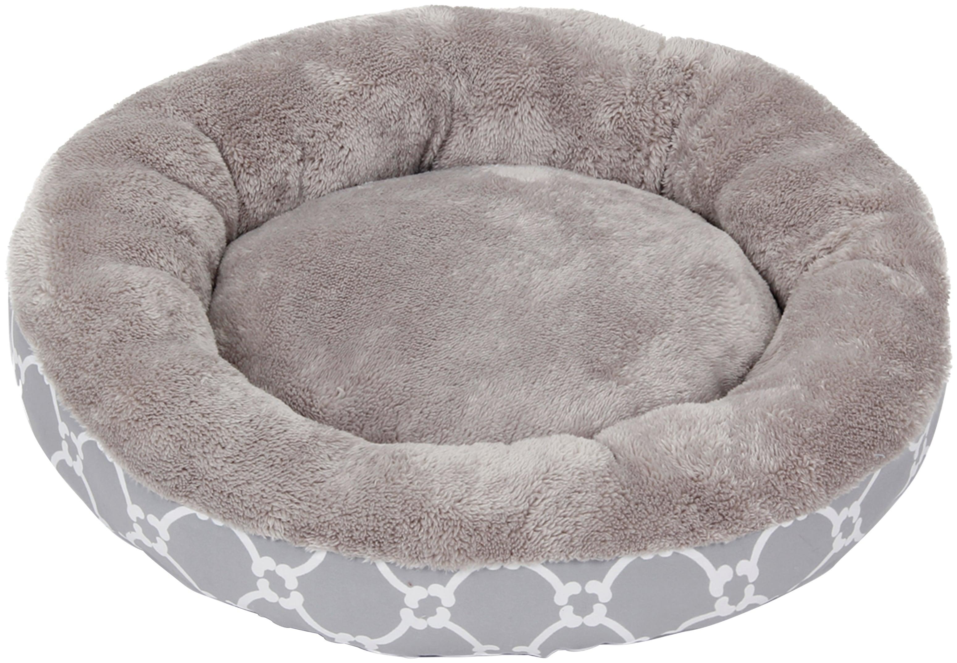 HEIM Hundebett und Katzenbett »Donat - Flower«, Fleece, Pastellfarben