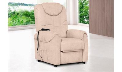 sit&more TV-Sessel, wahlweise manuell verstellbar oder mit Motor und Aufstehhilfe kaufen