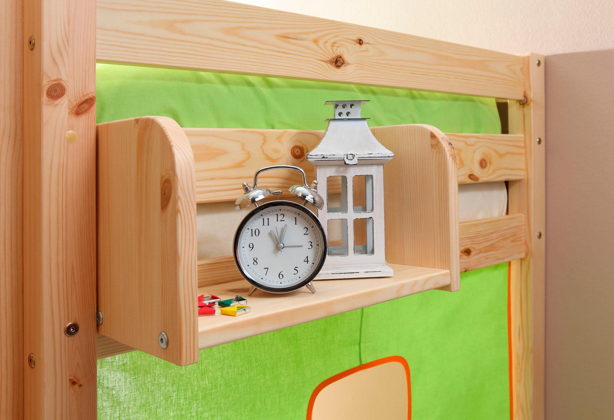 Ticaa Einhängeregal in verschiedenen Breiten, Kiefer | Kinderzimmer > Kinderzimmerregale | Natur | Metall - Kiefer | TICAA