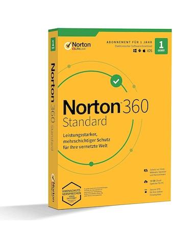 Norton Virensoftware »1 Gerät,10 GB Cloud-Speicherplatz« kaufen