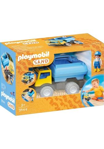 "Playmobil® Konstruktions - Spielset ""Wassertank - Laster (9144), Sand"", Kunststoff kaufen"