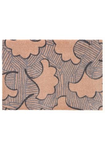 ELLE Decor Fußmatte »Leaf«, rechteckig, 7 mm Höhe, Fussabstreifer, Fussabtreter, Schmutzfangläufer, Schmutzfangmatte, Schmutzfangteppich, Schmutzmatte, Türmatte, Türvorleger kaufen