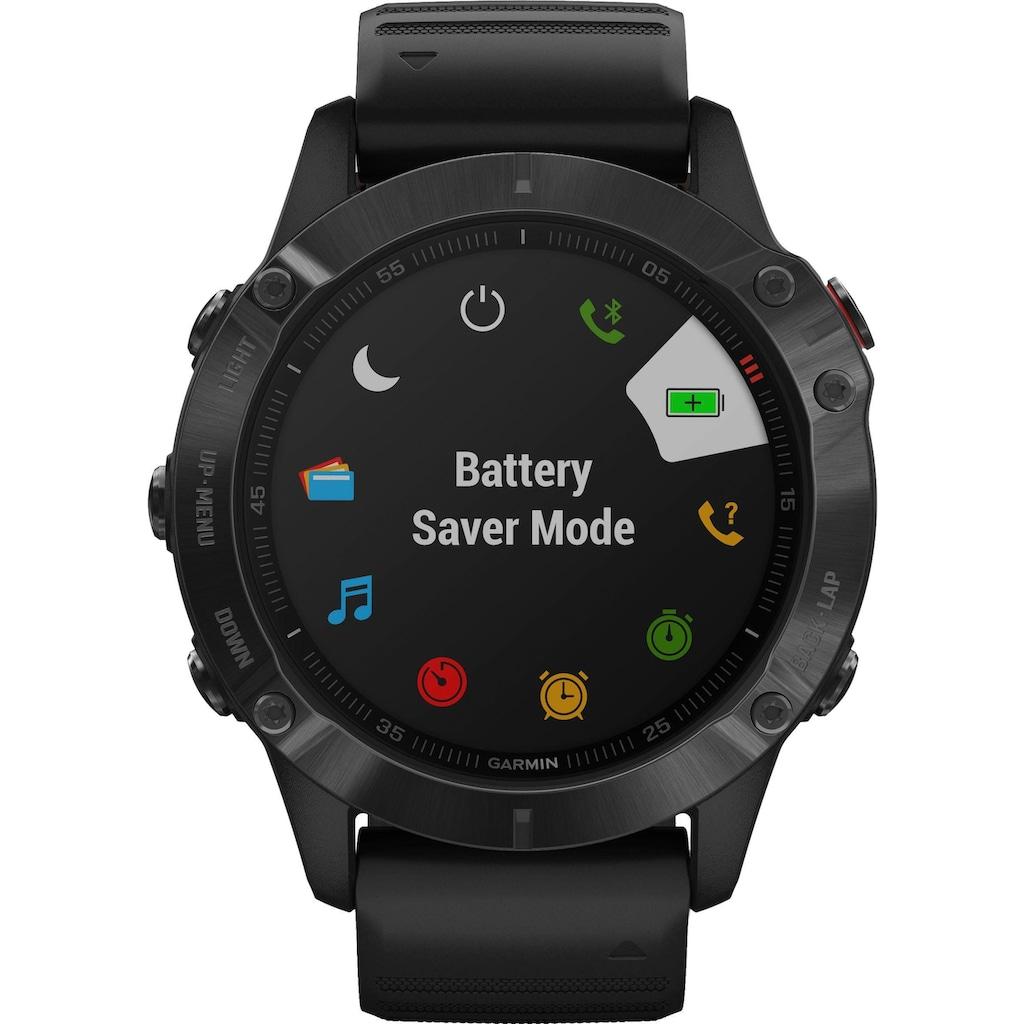 Garmin Smartwatch »FENIX 6 – Pro«