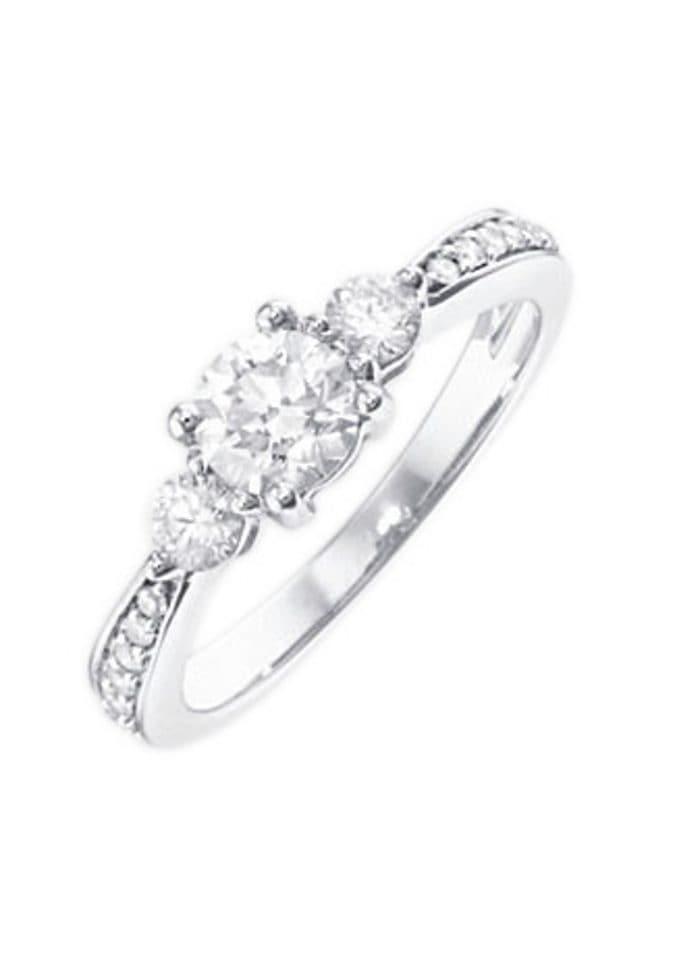Firetti Verlobungsring »Vorsteckring« | Schmuck > Ringe > Verlobungsringe | Silberfarben | FIRETTI