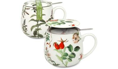 Könitz Becher »Pfefferminze/Hagebutte - Tea 4 you«, (Set, 2 tlg.), 2-teilig kaufen