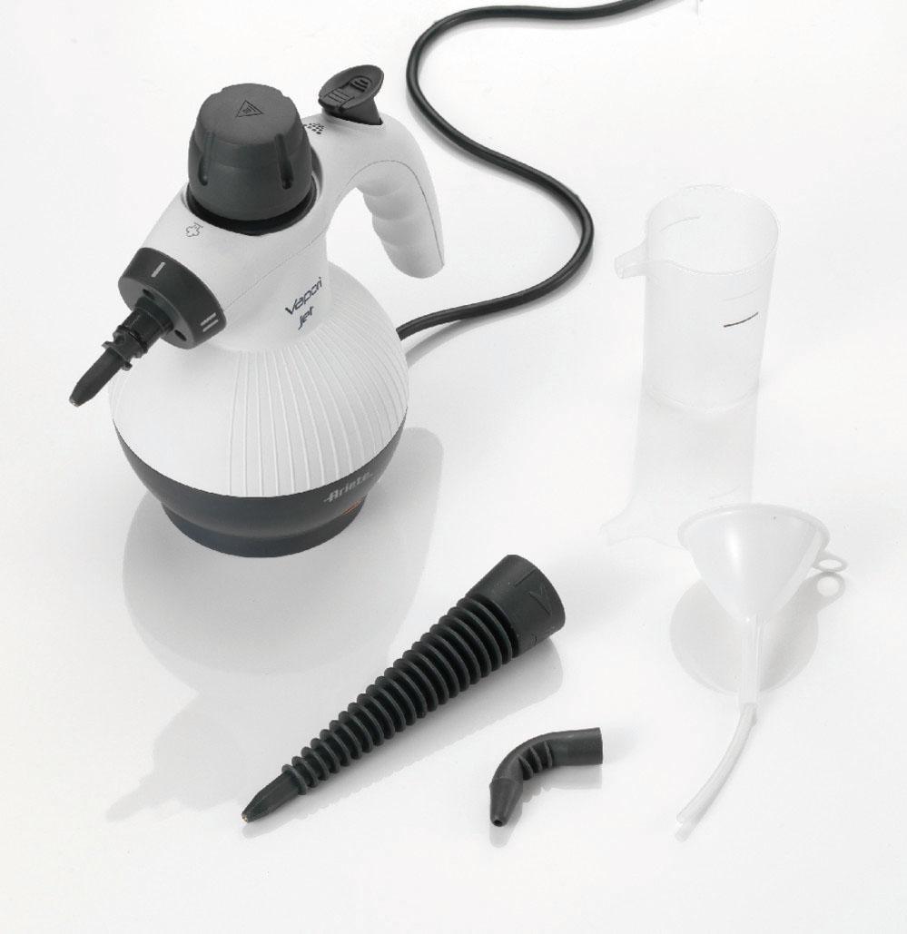 Ariete Dampfreiniger Vapori Jet - Handdampfreiniger, 900 Watt, beutellos | Flur & Diele > Haushaltsgeräte > Dampfreiniger | Weiß | Ariete
