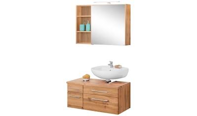 HELD MÖBEL Badmöbel-Set »Davos«, (3 St.), Spiegelschrank, Regal und... kaufen