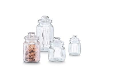 Zeller Present Vorratsglas »Nostalgie«, (4 tlg.) kaufen