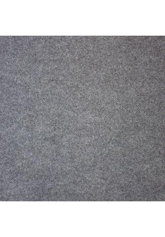 Teppichfliese »Madison«, quadratisch, 6 mm Höhe, grau, selbstliegend kaufen