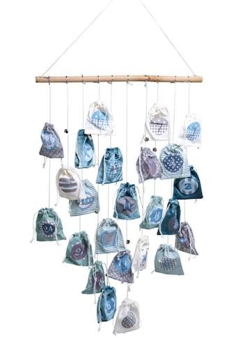 befüllbarer Adventskalender »Magic Bags«, inkl. Lichterkette mit 20 LEDs kaufen