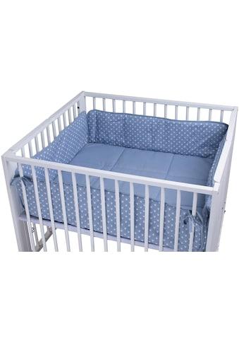 tiSsi® Laufgittereinlage »Moritz, Kronen blau«, Made in Europe kaufen