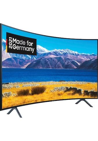 "Samsung Curved-LED-Fernseher »GU55TU8379U«, 138 cm/55 "", 4K Ultra HD, Smart-TV, HD+ integriert (6 Monate gratis) kaufen"