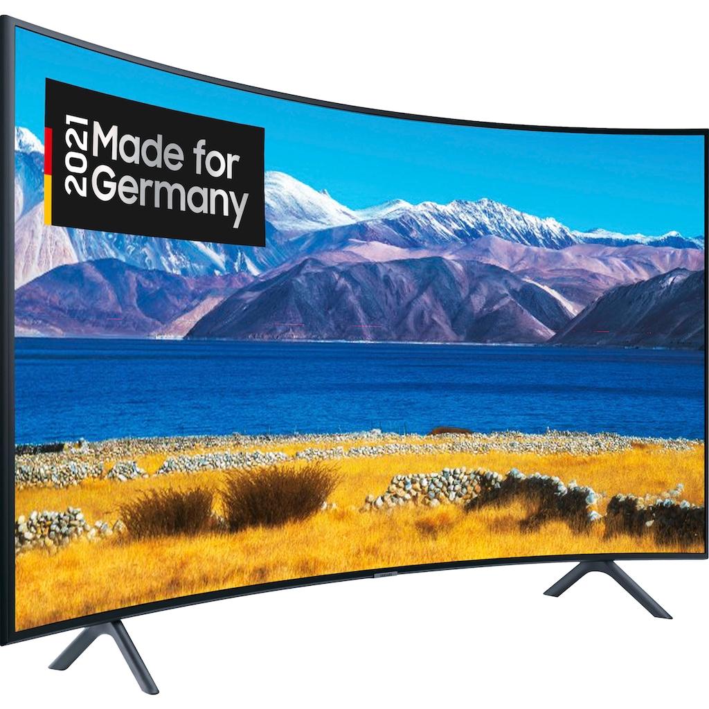 "Samsung Curved-LED-Fernseher »GU55TU8379U«, 138 cm/55 "", 4K Ultra HD, Smart-TV"