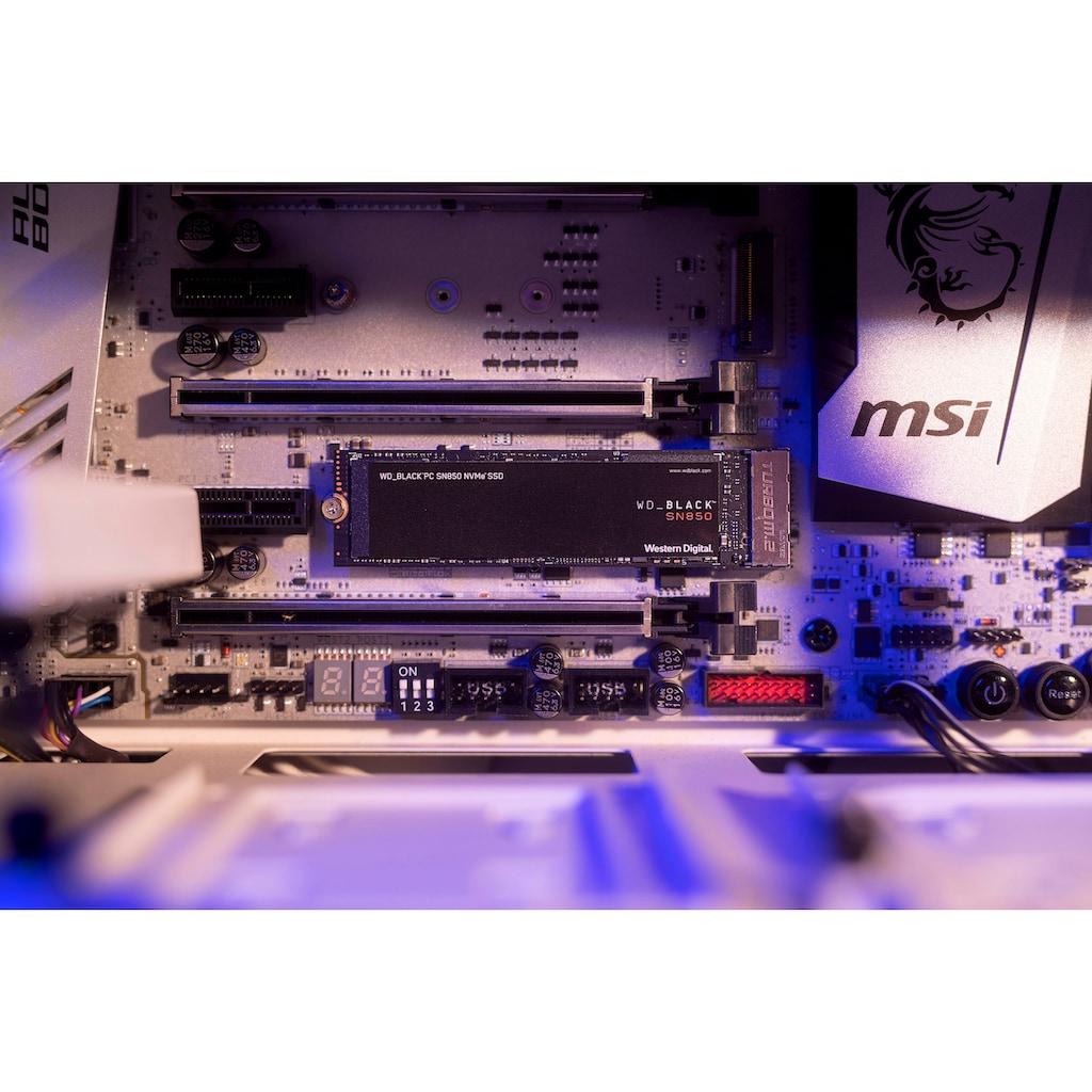 WD_Black interne SSD »SN850«