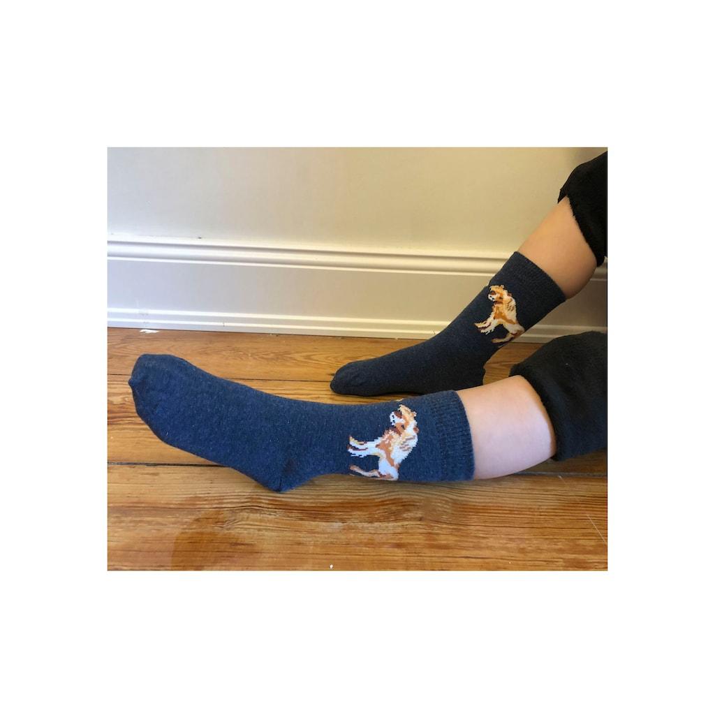 H.I.S Socken, (5 Paar), Mit unterschiedlichen Pferdemotiven