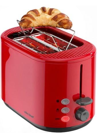 Efbe - Schott Toaster »SC TO 1080.1 ROT«, für 2 Scheiben, 800 Watt kaufen