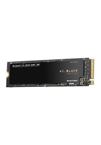 Western Digital WD BLACK SN750 NVMe SSD »Innovative NVMe SSD - Performance« kaufen