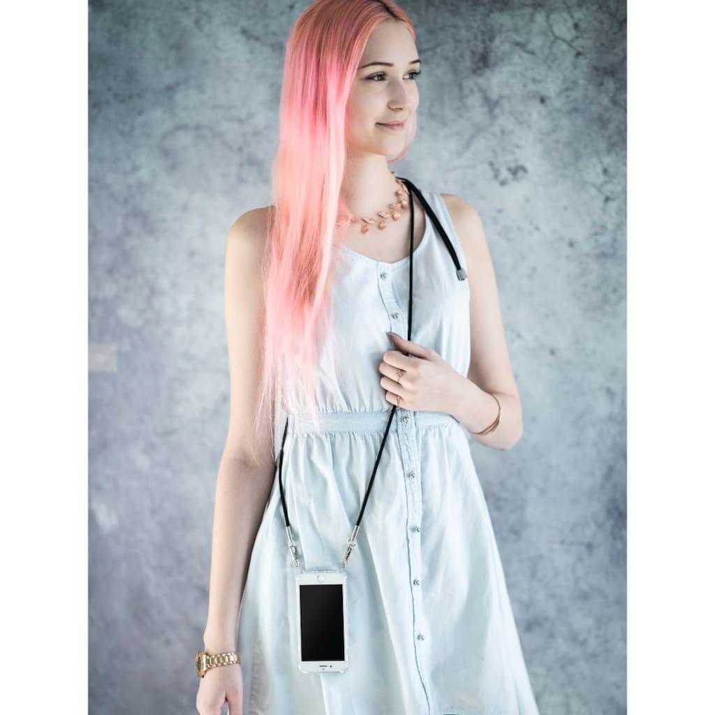 Hama Handytasche »Hülle Transparent«, mit Umhängekordel für Samsung Galaxy A21s