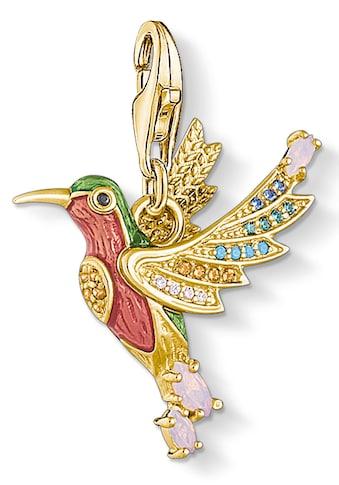 THOMAS SABO Charm-Einhänger »Bunter Kolibri gold, 1828-974-7«, mit Emaille, Glassteinen und Zirkonia kaufen