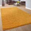 Paco Home Hochflor-Teppich »Sky 250«, rund, 35 mm Höhe, intensive Farbbrillanz, Wohnzimmer