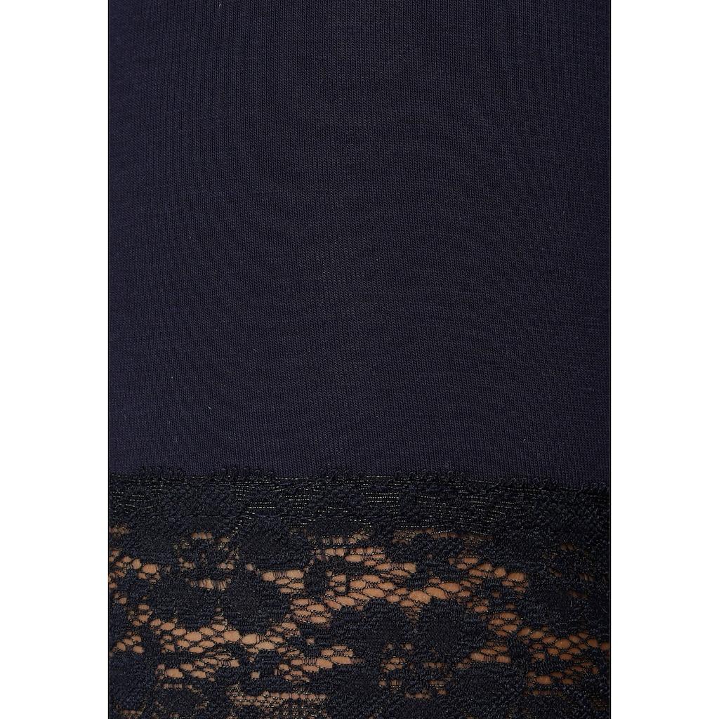 Flashlights Radlerhose, (Packung, 2er-Pack), mit Spitze