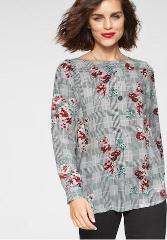 Tamaris Shirtbluse, mit Glencheckmuster kaufen