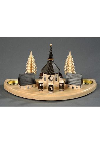 Albin Preissler Teelichthalter »Seiffener Dorf« kaufen
