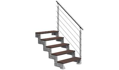 DOLLE Außentreppe »Gardentop«, für Geschosshöhen bis 110 cm, TRIMAX® - Stufen 100 cm kaufen