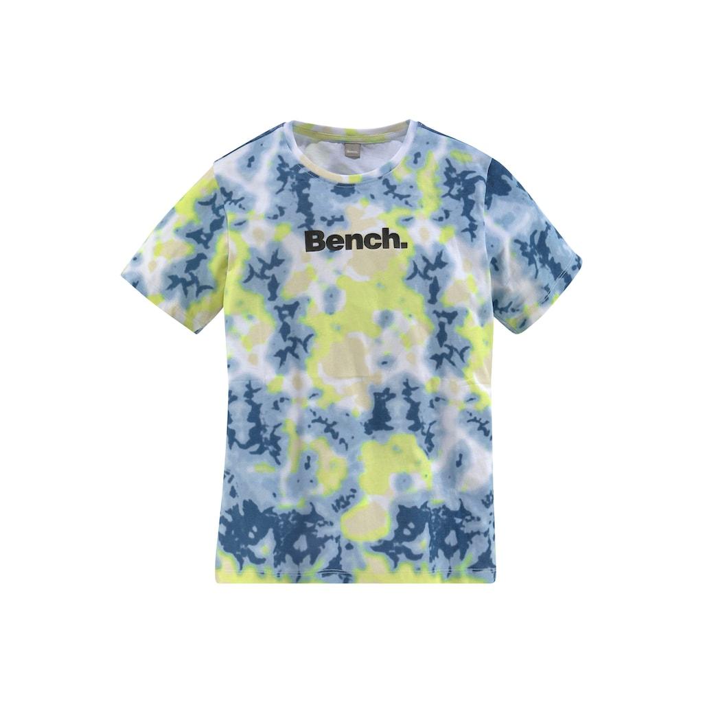 Bench. T-Shirt »Batik-Druck«