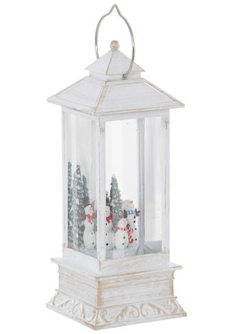KONSTSMIDE LED Laterne »Schneemänner«, Warmweiß kaufen