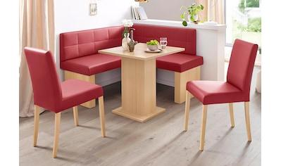 SCHÖSSWENDER Eckbankgruppe »Anna 2« (Set, 4 - tlg) kaufen