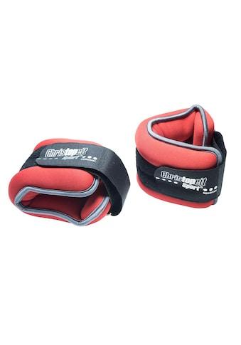Christopeit Sport® Gewichtsmanschette »Gewichtsmanschette 2 x 1,0 kg«, 2,0 kg (Set, 2 - tlg.) kaufen