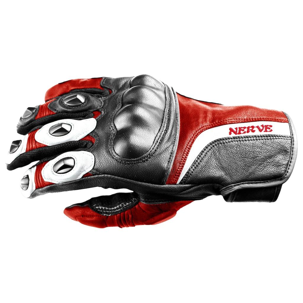 NERVE Motorradhandschuhe »KQ11«, mit Weitenverstellung
