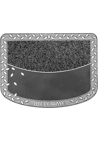 CarFashion Fußmatte »TC Clean Leaves«, rechteckig, 8 mm Höhe, Schmutzfangmatte kaufen