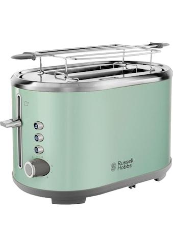RUSSELL HOBBS Toaster »Bubble Soft Green 25080 - 56«, für 2 Scheiben, 930 Watt kaufen