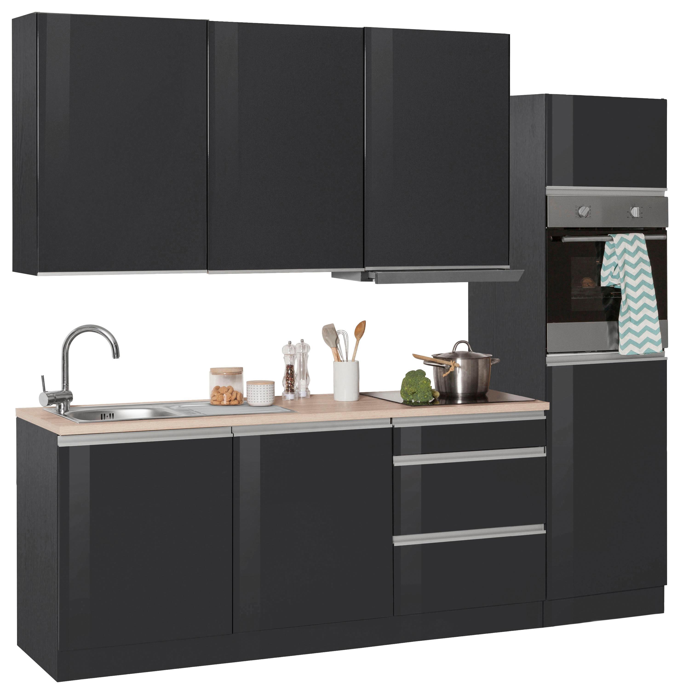 HELD MÖBEL Küchenzeile »Ohio« ohne E-Geräte, Breite 390 cm | Moebel ...