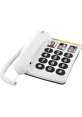 Doro Kabelgebundenes Telefon »Großtastentelefon PhoneEasy 331ph«, Fotowahltasten kaufen