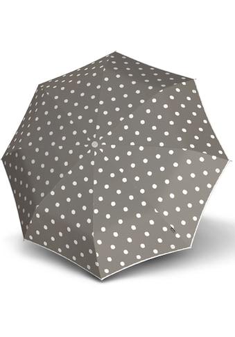 Knirps® Taschenregenschirm »T.200 Medium Duomatic, Dot Art Taupe« kaufen