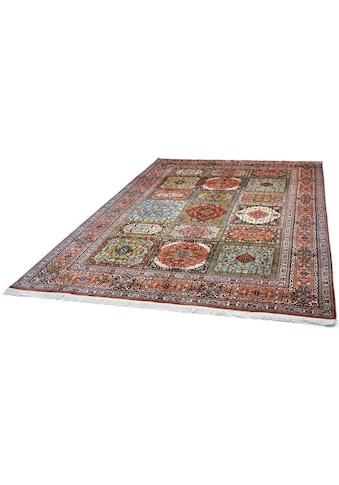 Seidenteppich, »Boxes 41«, Kayoom, rechteckig, Höhe 10 mm, manuell geknüpft kaufen