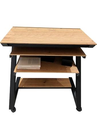 Maja Möbel Computertisch »Schreib- und Computertisch 1648«, Tastaturauszug,... kaufen