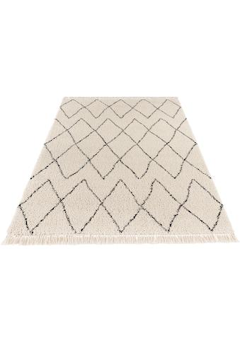 Hochflor - Teppich, »Jade«, MINT RUGS, rechteckig, Höhe 35 mm, maschinell gewebt kaufen