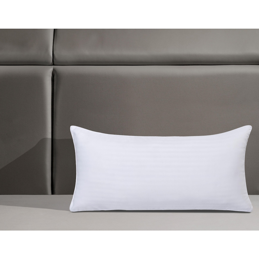 my home Microfaserkissen »Hotelcollection«, Füllung: 100% Polyester, Bezug: 100% Polyester, (1 St.), kuschelig weich