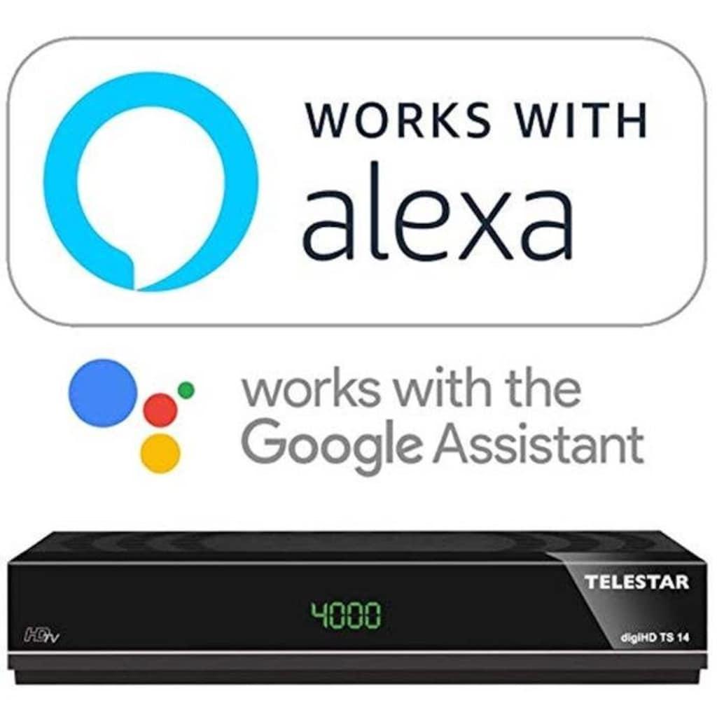 TELESTAR SAT-Receiver »digiHD TS 14«, Alexa, Google