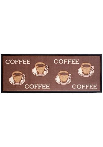 Andiamo Küchenläufer »Coffee«, rechteckig, 5 mm Höhe kaufen