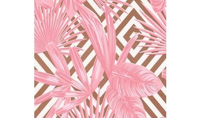 LIVINGWALLS Vinyltapete »Pop Up Panel 3D«, geometrisch, Dschungel, Palmen kaufen