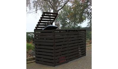 promadino Mülltonnenbox »Vario V«, für 3 x 240 l, anthrazit kaufen