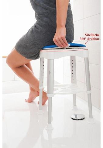Maximex Badhocker, belastbar bis 150 kg, 360 Grad drehbare Sitzfläche kaufen