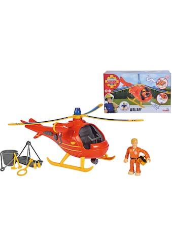 SIMBA Spielzeug-Hubschrauber »Feuerwehrmann Sam, Wallaby«, mit Licht und Sound kaufen